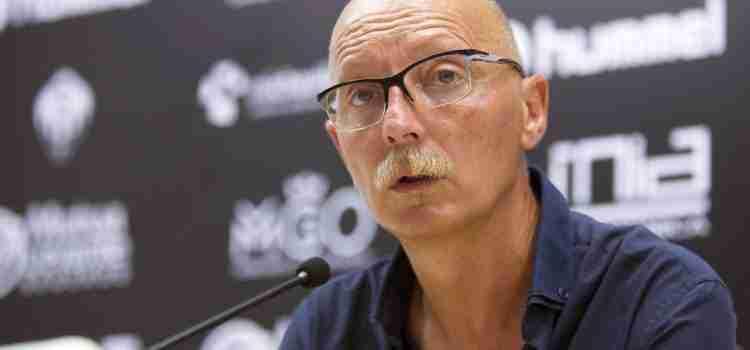 Frank Castelló entrenador del CD Castellón