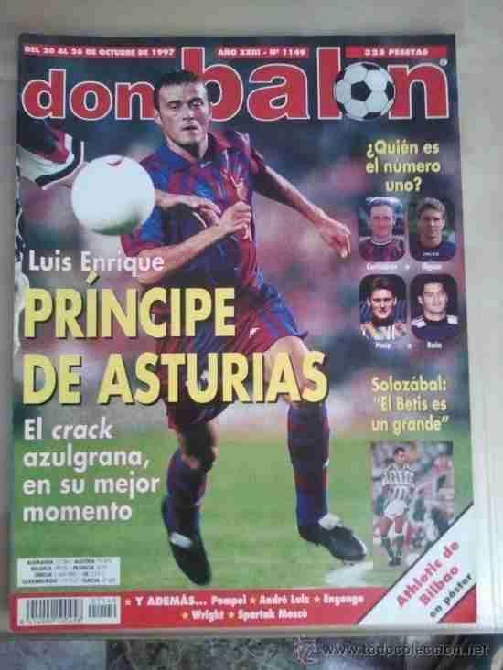 Revista Don Balón Luis Enrique