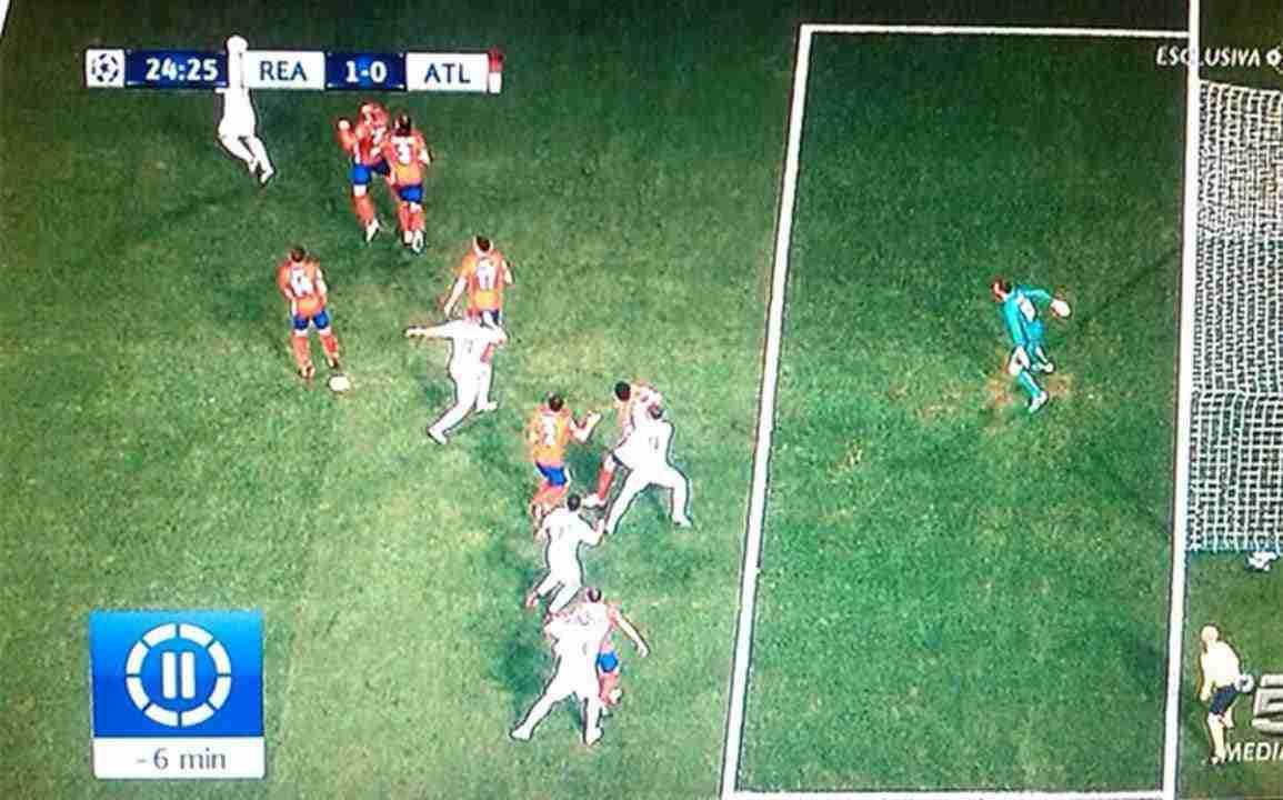 Gol Sergio Ramos final UEFA Champions League vs Atlético