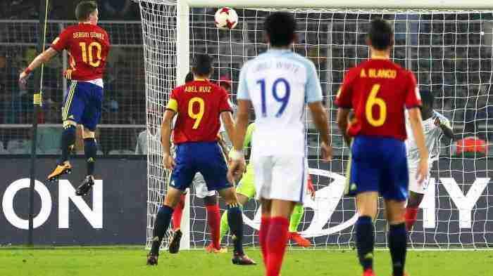 España - Inglaterra Mundial Sub 17