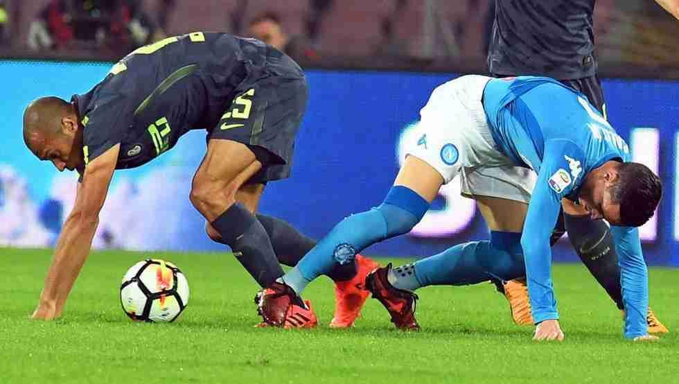 Inter de Milán Nápoles