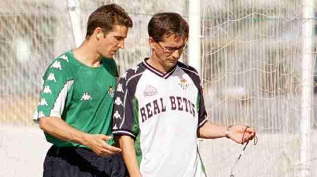 Juan Merino y Fernando Vázquez Betis