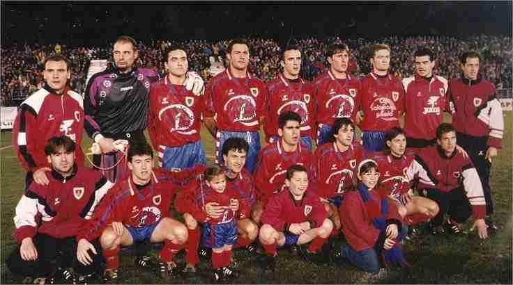 Equipo del Numancia temporada 1996