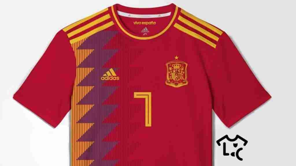 Camiseta de España para Rusia 2018