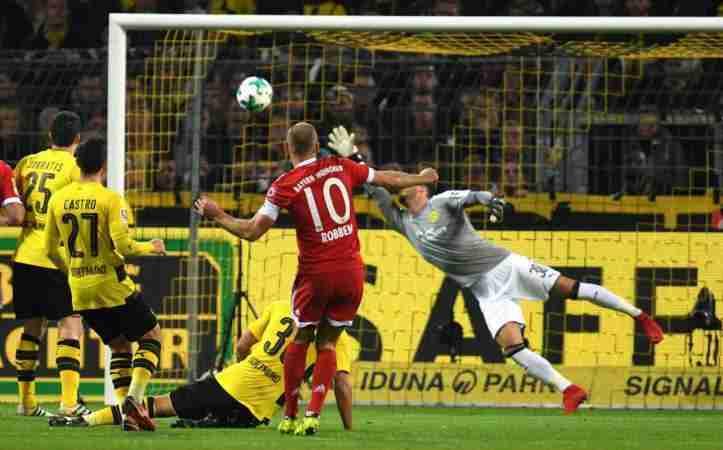 Robben marcando gol Bayern