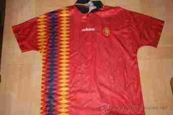 Camiseta de España en el Mundial de USA 1994