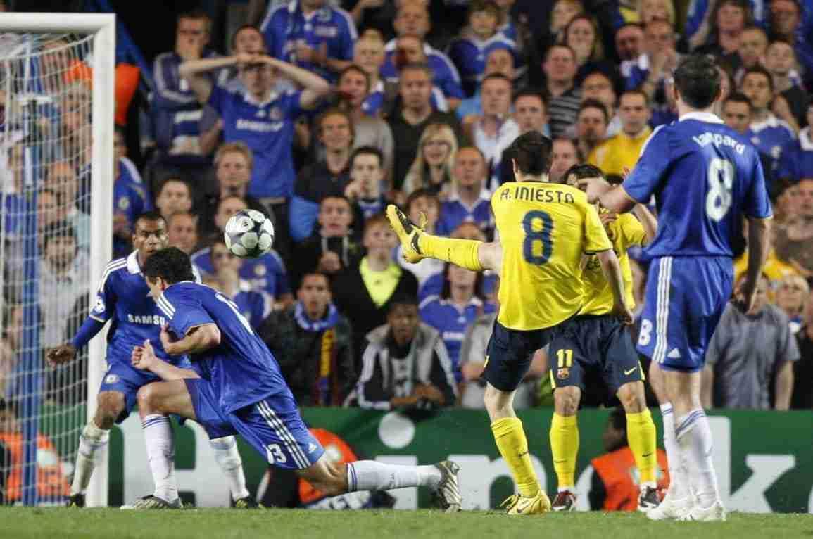 Gol Iniesta Chelsea Champions 2009