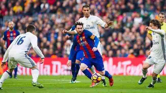 Messi y Ronaldo El Clásico