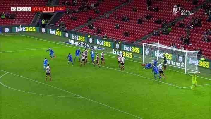 Formentera gol Bilbao Copa del Rey