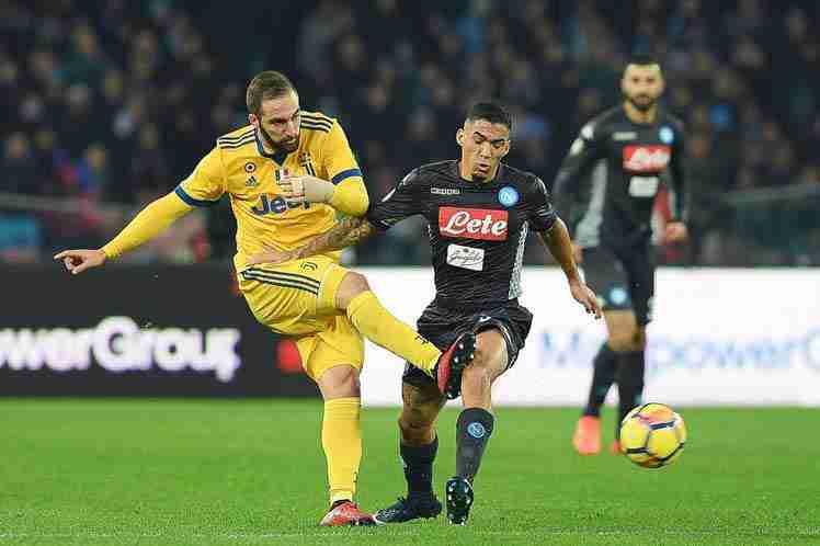 Higuaín Juventus Nápoles