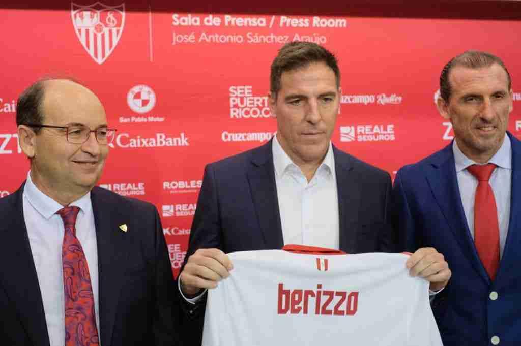 Presentación Eduardo Berizzo Sevilla FC