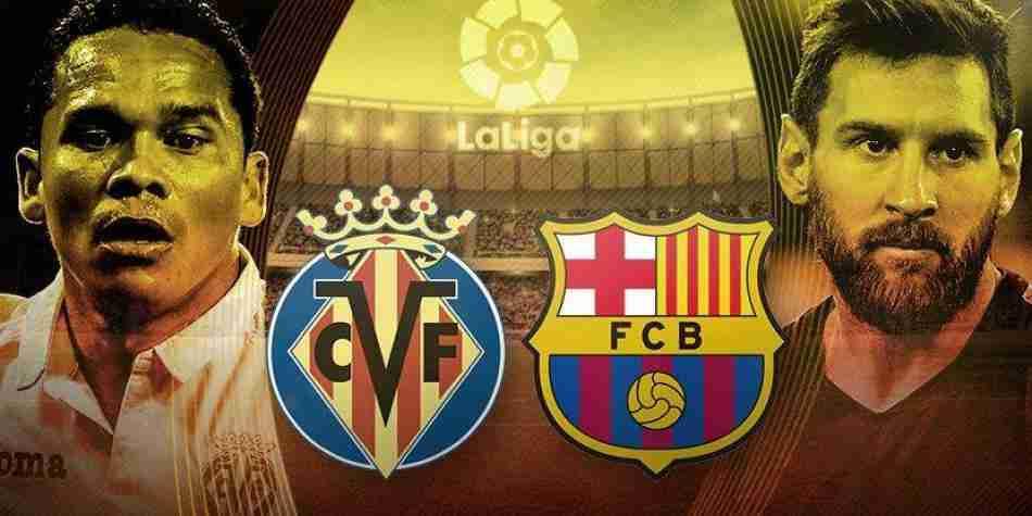 Bacca y Messi Villarreal - Barcelona