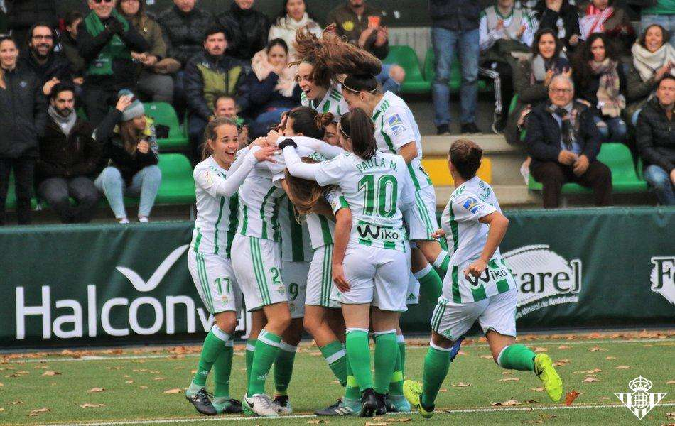 Betis celebra gol Liga Iberdrola