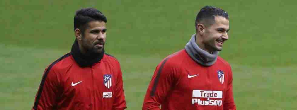 Diego Costa y Vitolo Atlético de Madrid