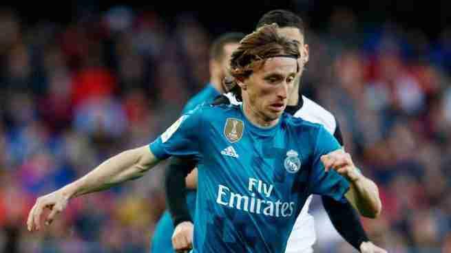 Luka Modric Valencia