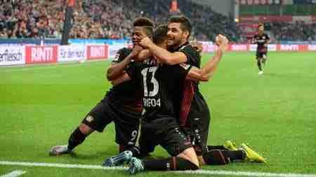 Celebración gol Bayern Munich