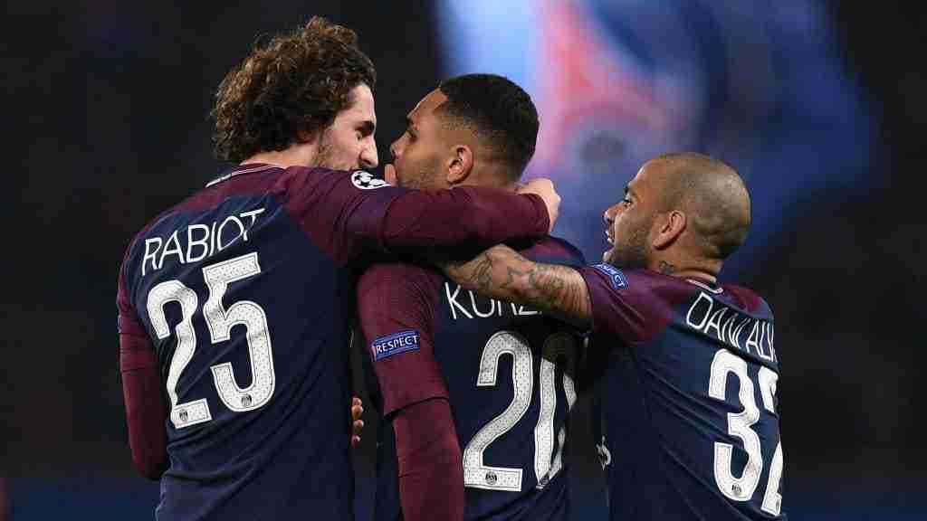 PSG celebra gol