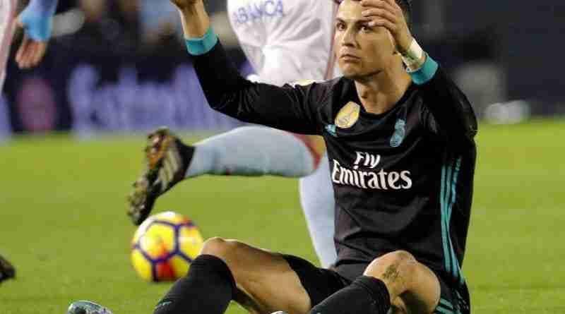 Cristiano Ronaldo Madrid Celta