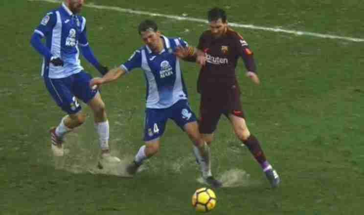 Messi Espanyol Barcelona