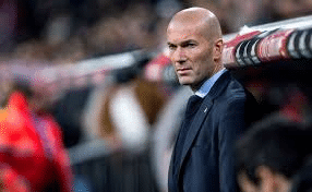 Zidane banquillo Madrid