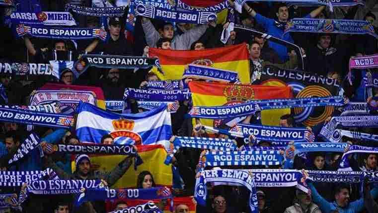 Afición del RCD Espanyol