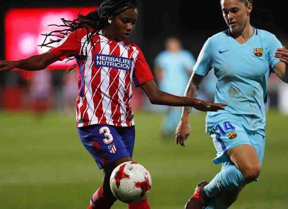 Atlético y Barcelona fútbol femenino