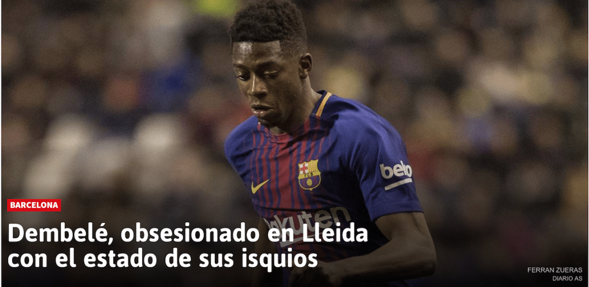 Noticia As sobre Dembelé
