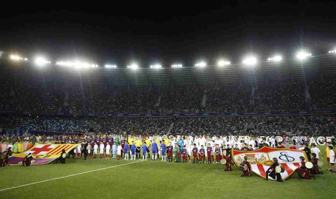 Sevilla Barcelona final supercopa europea