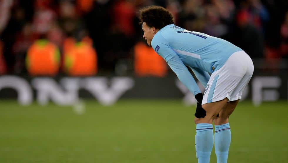 Leroy Sané derrota Manchester City Liverpool
