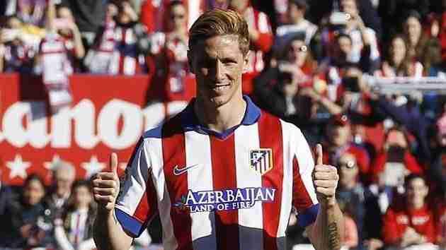 Fernando Torres presentación Atlético de Madrid