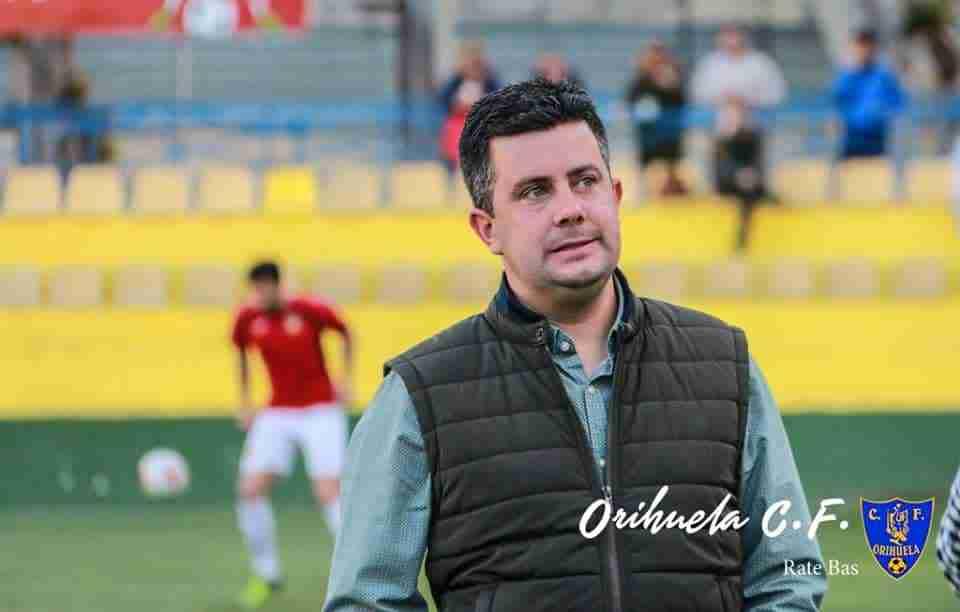 Villafaina antes de un partido en Los Arcos