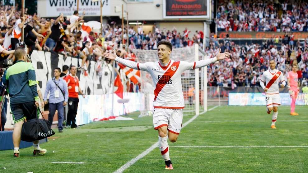Alex Moreno gol Rayo Vallecano