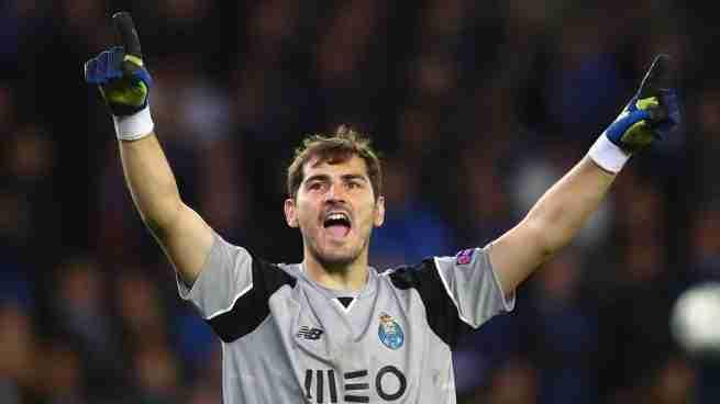 Casillas celebra Liga Porto
