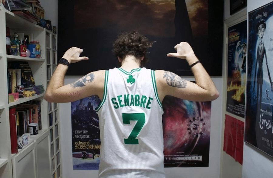 Dani Senabre camiseta Celtic