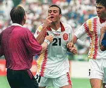 Luis Enrique sangrando Mundial USA 94
