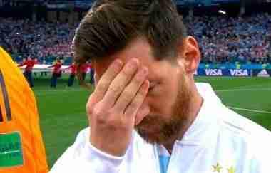 Messi Argentina Croacia