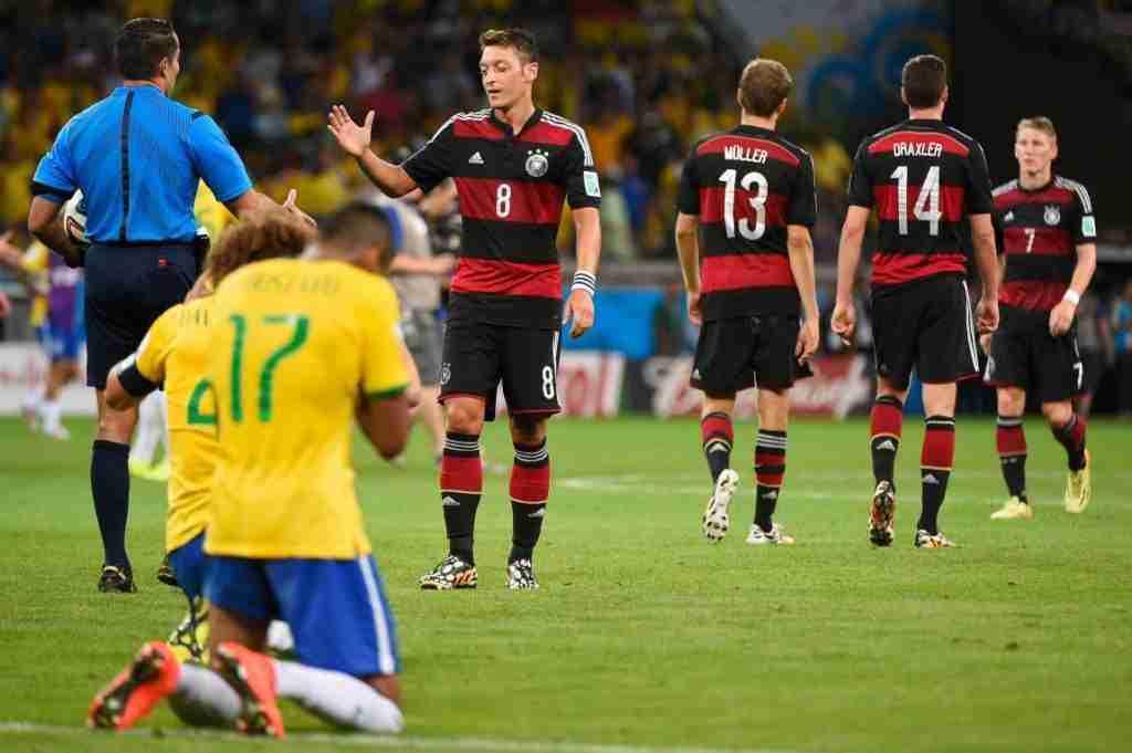 Alemania Brasil 1-7 mundial Brasil 2014