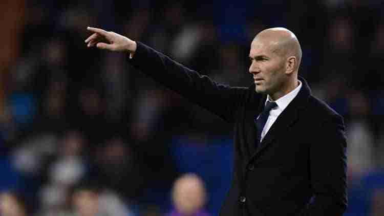 El entrenador galés dando órdenes durante uno de los encuentros jugados por el Real Madrid
