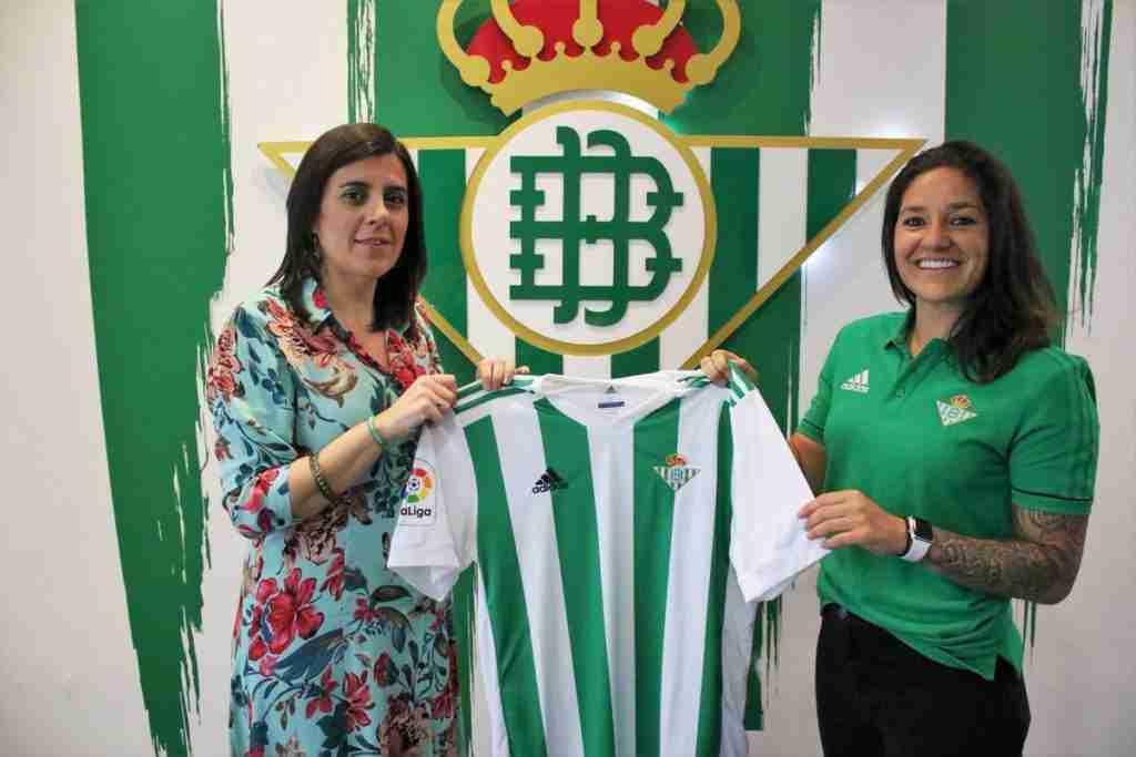 Ana Romero presentación Betis