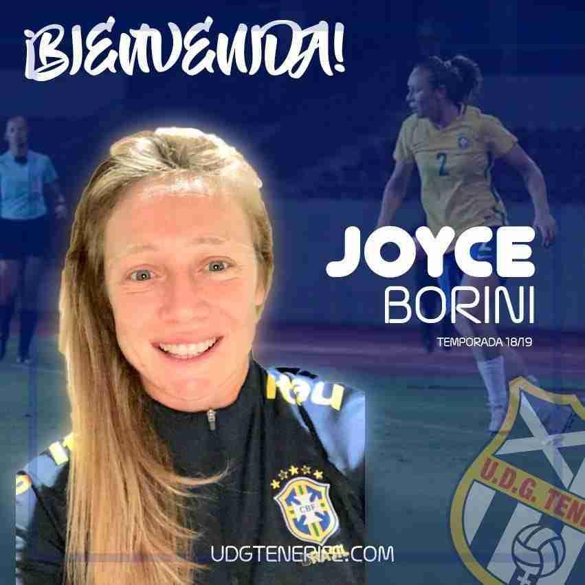 Joyce jugadora Tenerife