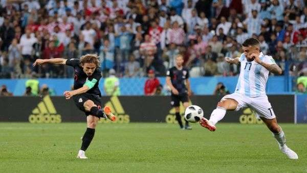 Luka Modric gol Argentina