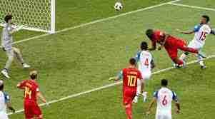 Lukaku remata de cabeza Bélgica Panamá