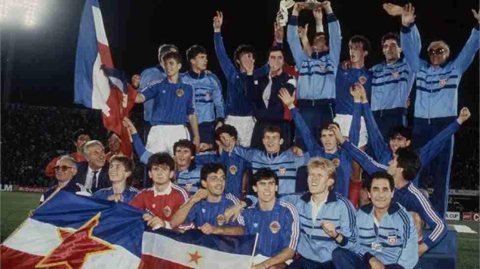 La selección yugoslava Mundial Sub 20 de 1987