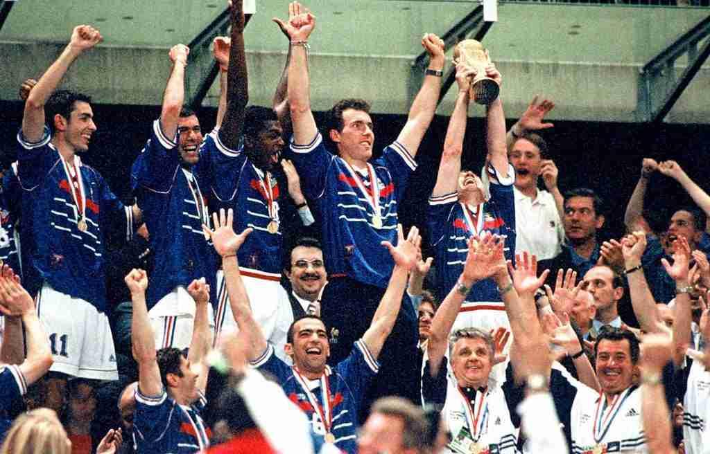 Francia celebra Mundial 1998