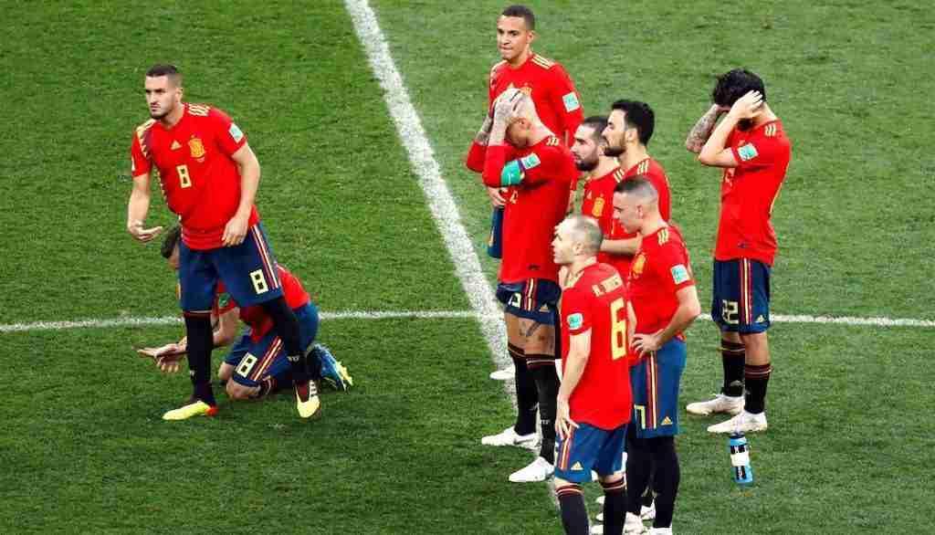 España eliminada Mundial Rusia