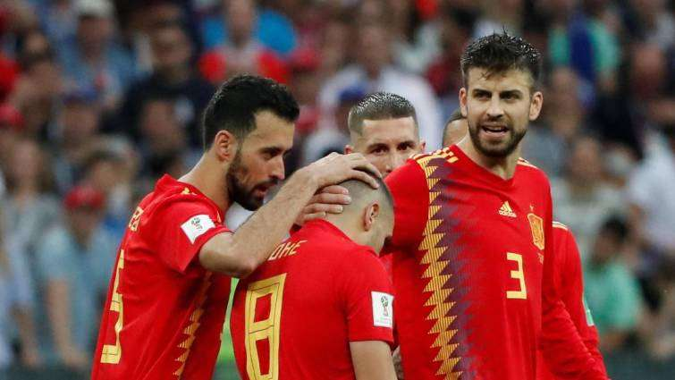 Iniesta triste eliminación España Mundial