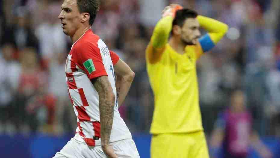 Mandzukic celebra gol Croacia