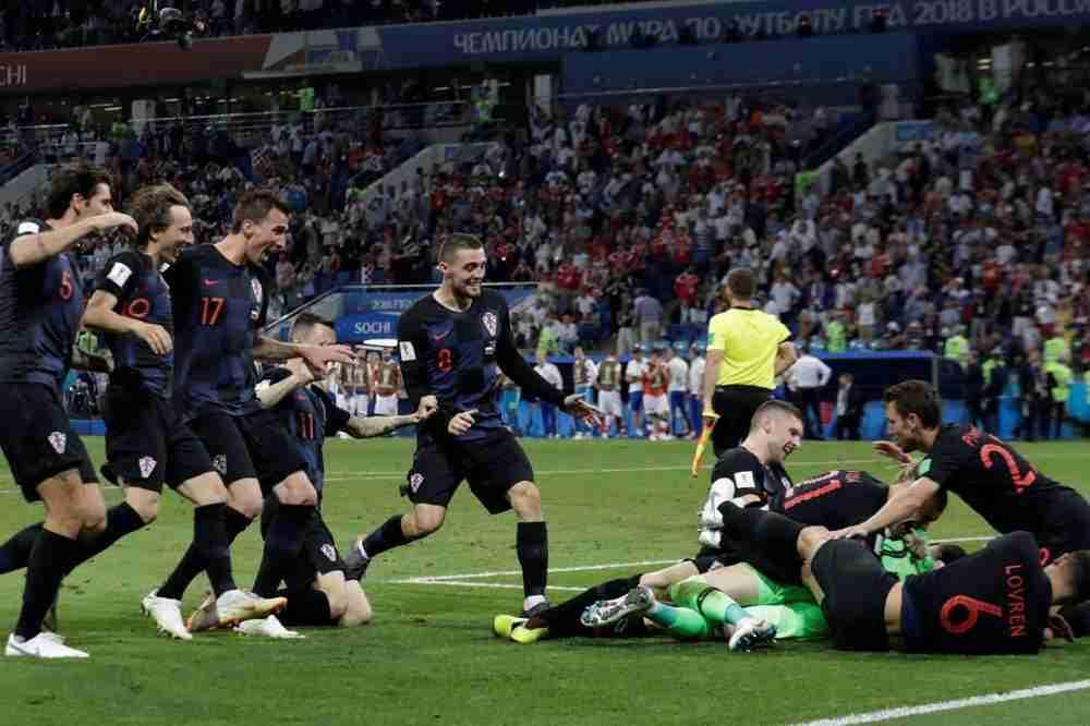 Croacia celebra penalties Mundial