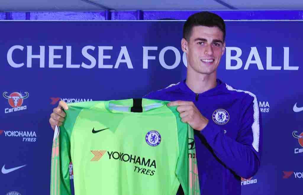 Kepa Chelsea presentacion