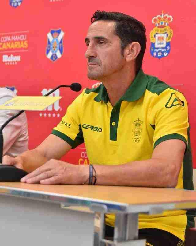 Manolo Jiménez UD Las Palmas.
